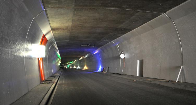 Fausses alarmes en diminution dans le tunnel de Graitery