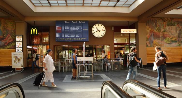 Nouvelle panne électrique en gare de Neuchâtel