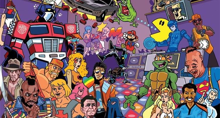 Les années 80 mais pas que !