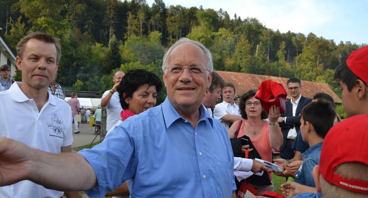 Le cheval de Johann Schneider-Ammann ne concourra pas au Marché-Concours