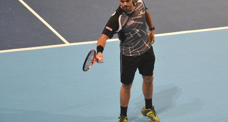 Wawrinka file en huitième de finale
