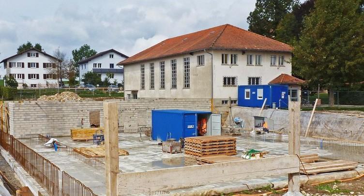 Espace communal des Bois : reprise des travaux lundi !