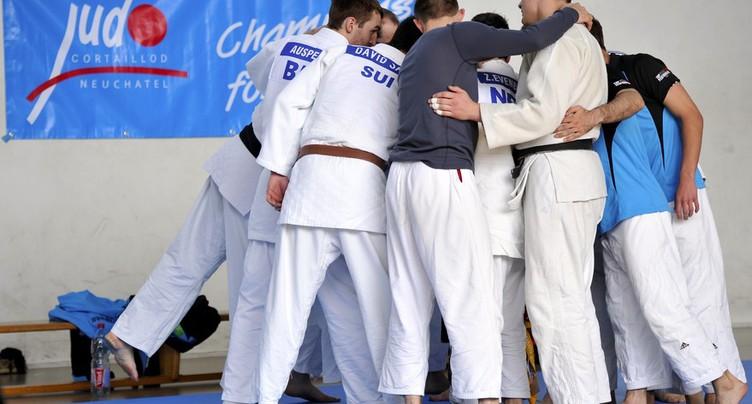 Les hommes du JC Cortaillod champions de Suisse