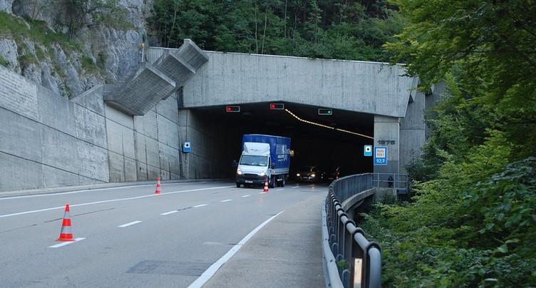 Le tunnel de La Clusette fermé une heure