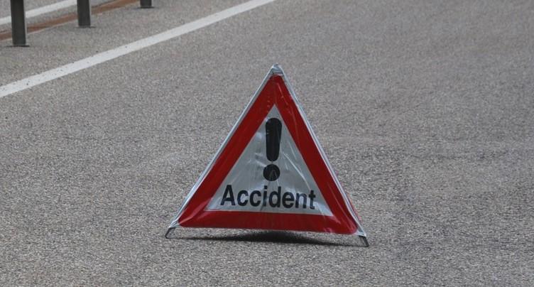 Spectaculaire accident sur l'autoroute A5