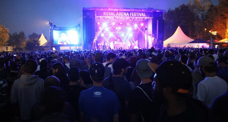 Concert annulé au Royal Arena Festival