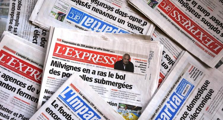 Les villes réagissent à la fusion de L'Express et  de L'Impartial