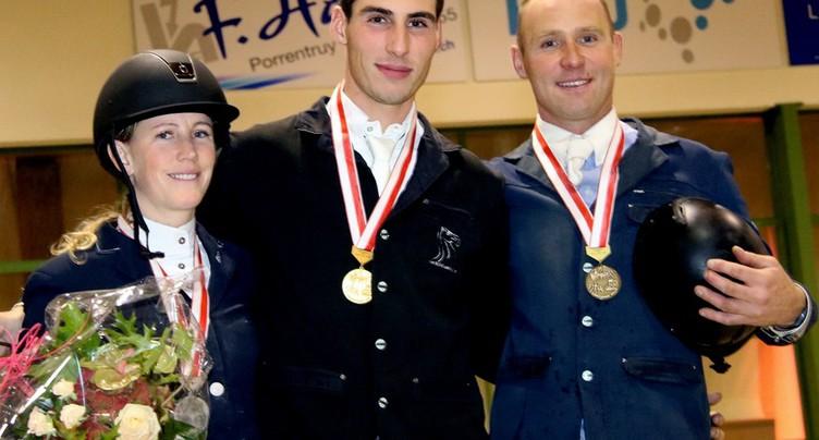 Belles performances de cavaliers régionaux à Sion
