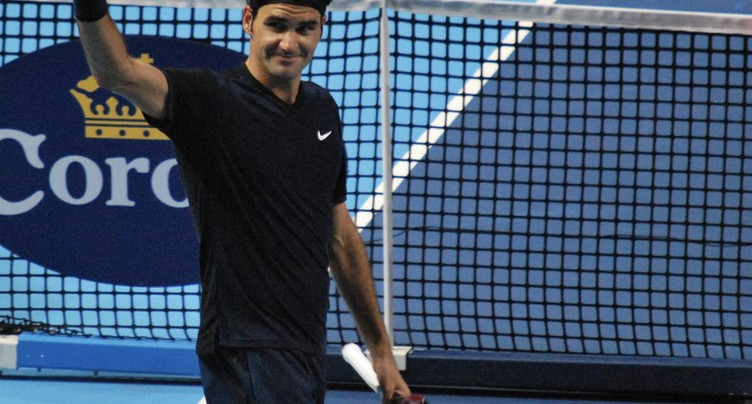 Roger Federer continue son récital