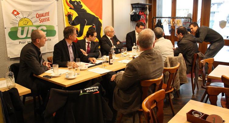 L'UDC Jura bernois scelle son alliance avec le PLR