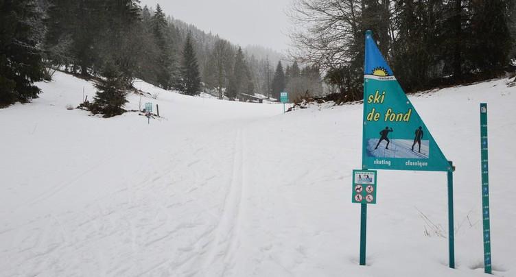 Ski de fond : premières traces dans la région