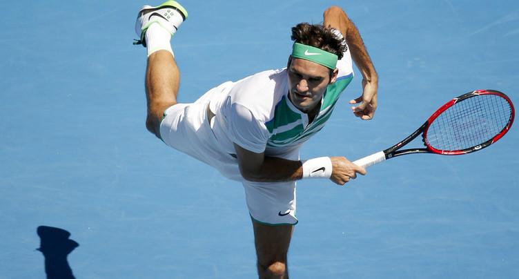 Roger Federer en démonstration