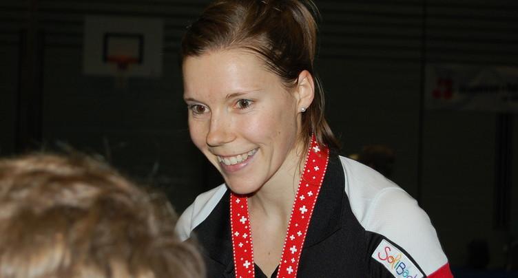 Sabrina Jaquet assure une médaille