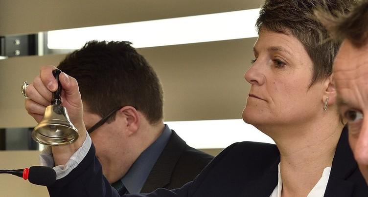 Anne Roy à la tête des élus PDC au Parlement