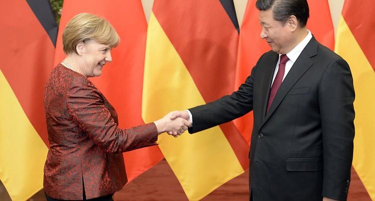 Commande de 100 Airbus A320 lors d'une visite de Merkel en Chine