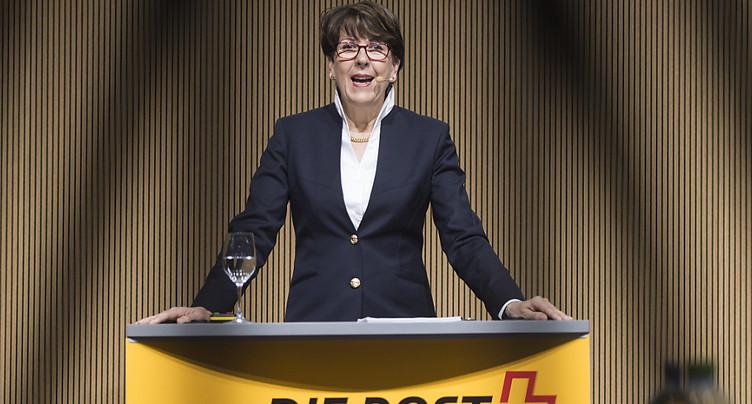 La cheffe Susanne Ruoff fière de l'esprit d'innovation de sa firme