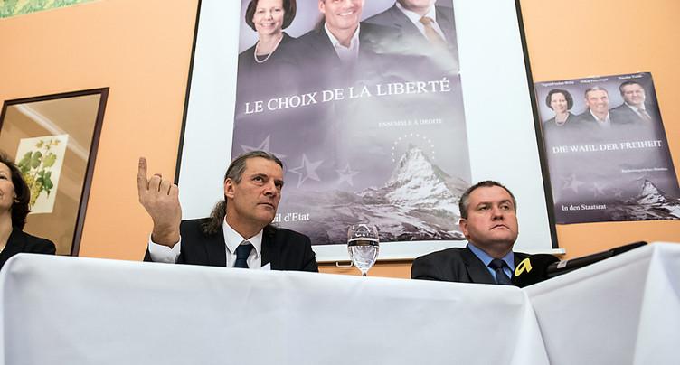 L'UDC veut un gouvernement de droite