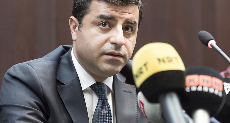 Turquie: le parquet requiert 142 ans de prison pour le chef kurde Demirtas