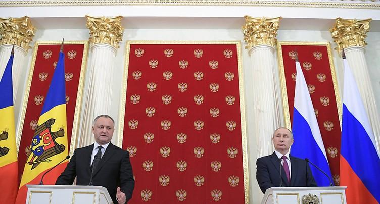 Le président pro-russe Dodon veut annuler l'accord avec l'UE