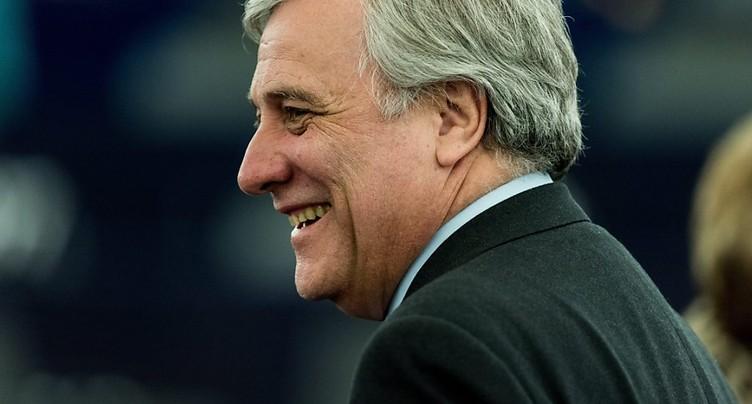 Antonio Tajani a été élu à la présidence du Parlement européen