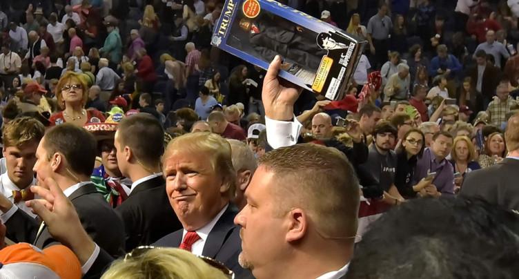 Il avait parié sur Clinton, il va vendre des souvenirs de Trump