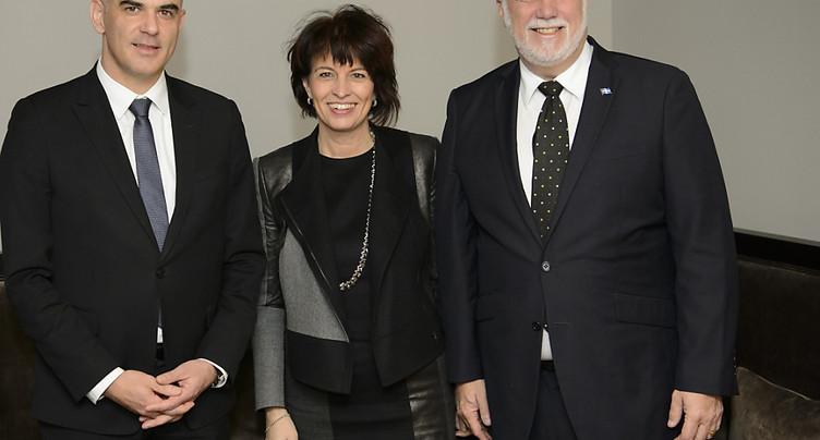 Energie: la Suisse et le Québec renforcent leur collaboration