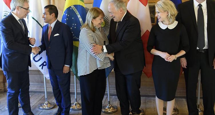 AELE et Mercosur veulent démarrer des négociations de libre-échange