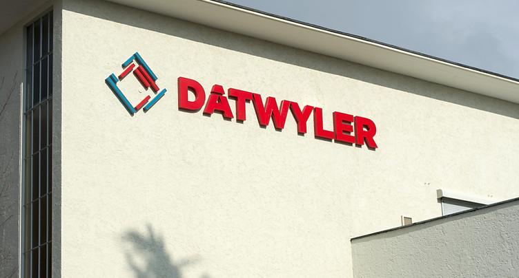 Dätwyler a accru son chiffre d'affaires en 2016