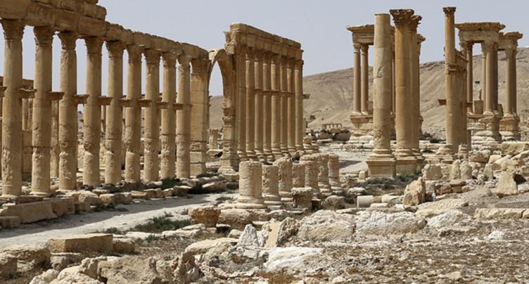 L'EI a détruit de nouveaux trésors archéologiques à Palmyre