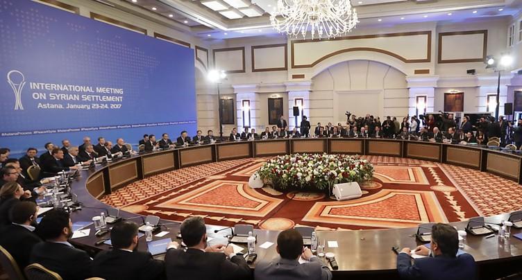 Ouverture des pourparlers de paix sur la Syrie à Astana
