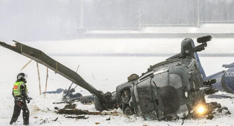 Un hélicoptère s'écrase dans le centre de l'Italie