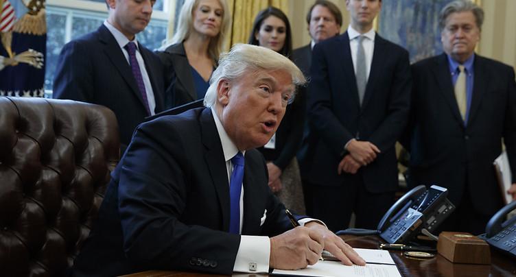 Donald Trump relance les projets d'oléoducs Keystone XL et Dakota