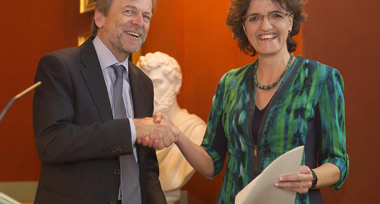 Le Prix Louis-Jeantet 2017 à une Suissesse et à un Portugais