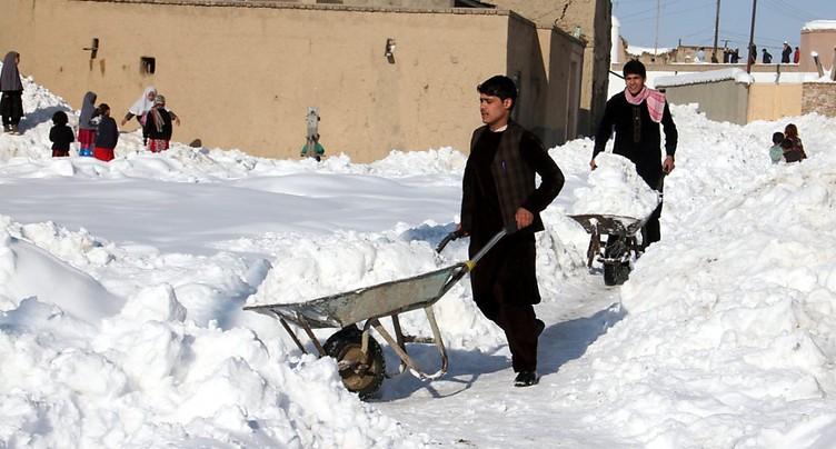 Plus de cent morts dans des avalanches en Afghanistan et au Pakistan