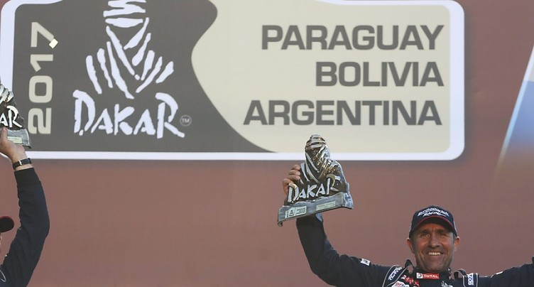 Permis retiré en Valais au multiple vainqueur du Dakar