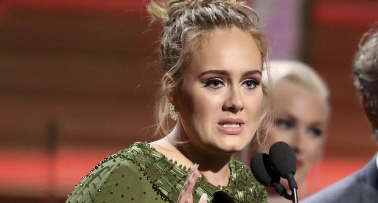 « Hello » d'Adele décroche le Grammy de chanson de l'année