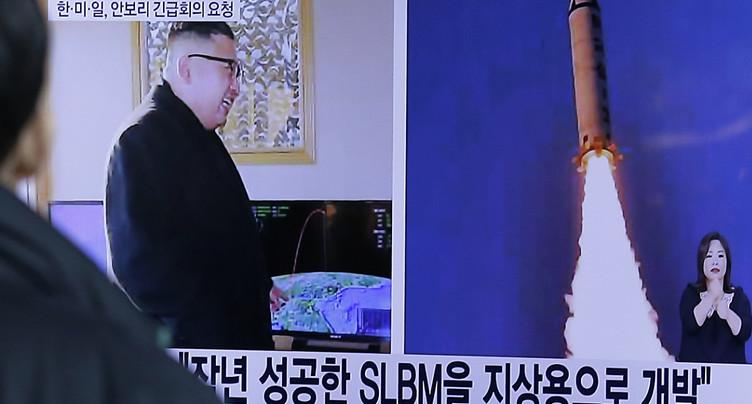 Pyongyang se félicite de son essai de missile, réunion de l'ONU