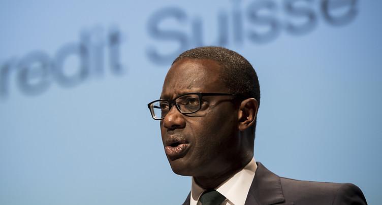 Credit Suisse essuie une perte nette de 2,44 milliards de francs