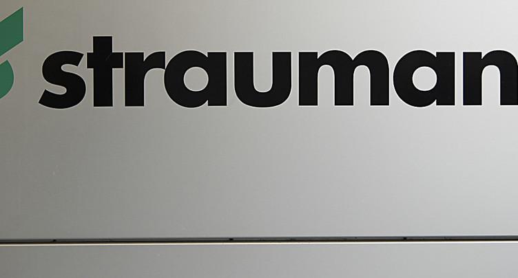 Straumann affiche pour 2016 un bénéfice de 229,6 millions de francs