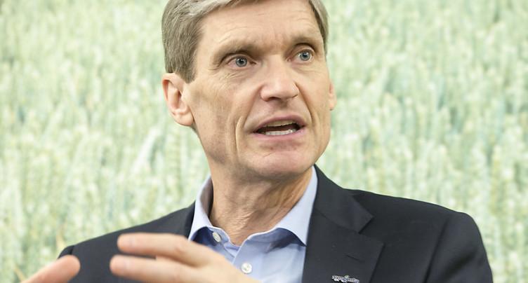 Le patron de Syngenta a empoché 8,5 millions de dollars en 2016