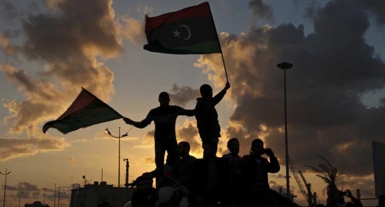 Des milliers de Libyens célèbrent l'anniversaire de leur révolution