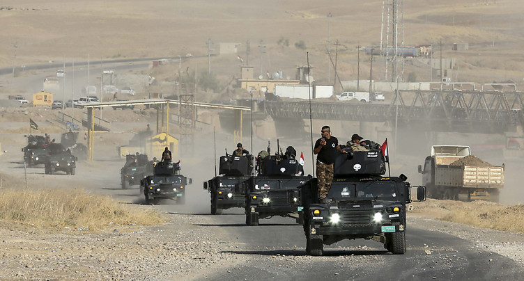 Les forces irakiennes reprennent deux localités au sud de Mossoul, en Irak