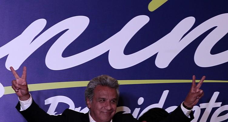 Equateur: le candidat de la gauche en tête, selon les estimations