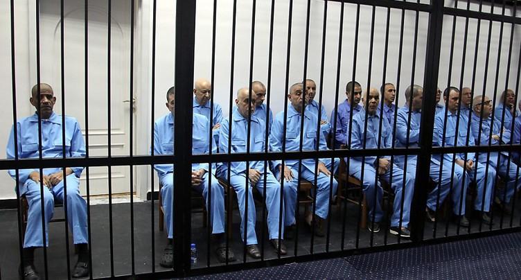 Le procès du régime Kadhafi en Libye n'a pas été équitable