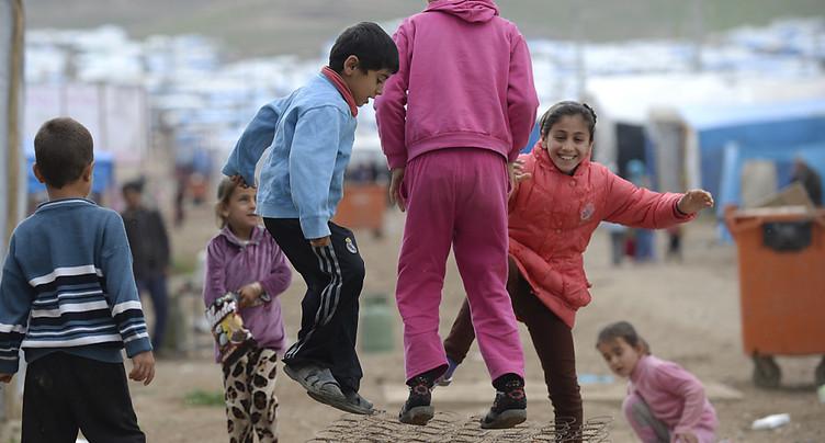 Le nombre de réfugiés touchant une aide sociale a augmenté en 2015