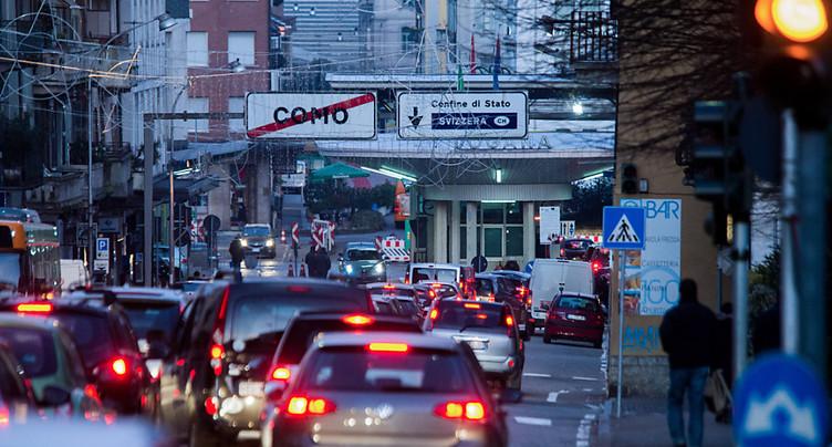 Près de 320'000 frontaliers travaillent en Suisse