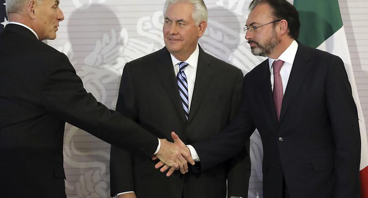 Rex Tillerson en visite au Mexique dans un contexte de tension