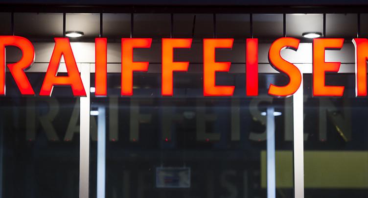 Bénéfice de Raiffeisen en baisse de 6,6%