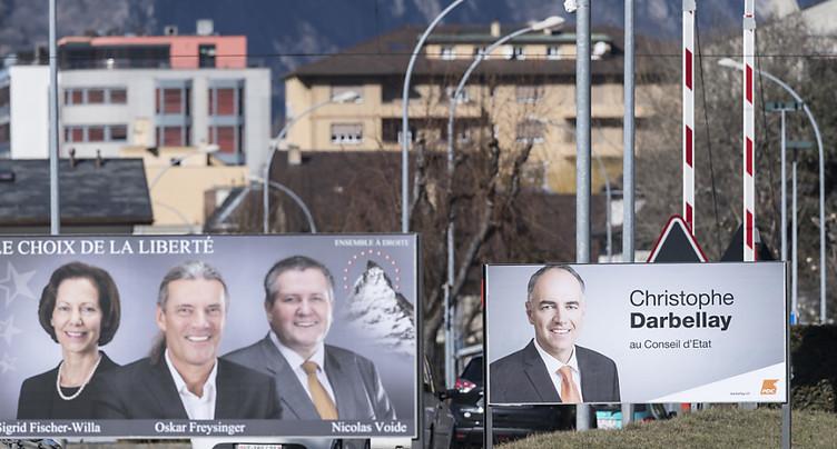Duels fratricides pour les cinq sièges de l'exécutif valaisan