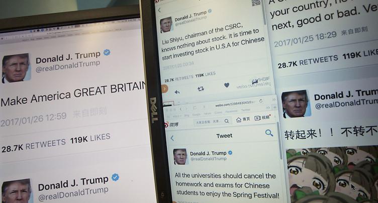 Les médias suisses tentent de composer avec les tweets de Trump